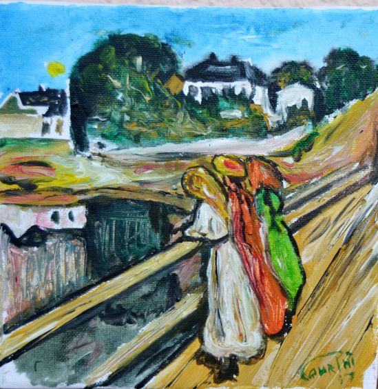 Clin D'oeil Munch1